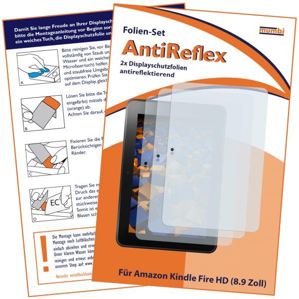 Displayschutzfolie 3 Stck. AntiReflex für Amazon Kindle Fire HD (8.9 Zoll)