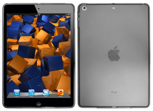 TPU Hülle schwarz transparent für Apple iPad Air 1