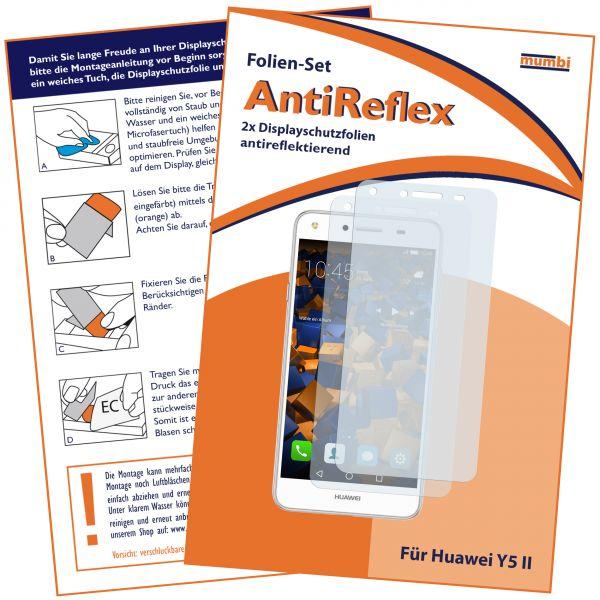 Displayschutzfolie 2 Stck. AntiReflex für Huawei Y5 II