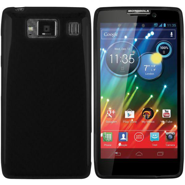 TPU Hülle schwarz für Motorola RAZR HD