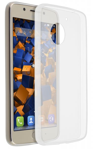 TPU Hülle Ultra Slim transparent für Motorola Moto G5
