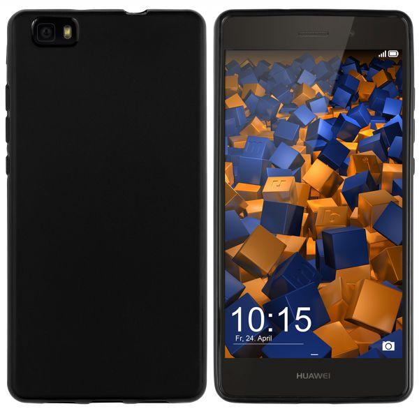 TPU Hülle schwarz für Huawei P8 Lite (2015)