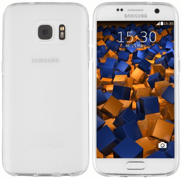 TPU Hülle weiß transparent für Samsung Galaxy S7