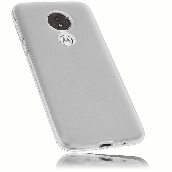 TPU Hülle weiß transparent für Motorola Moto G7 Power
