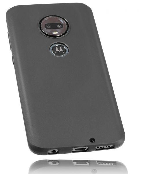 TPU Hülle schwarz für Motorola Moto G7 Plus