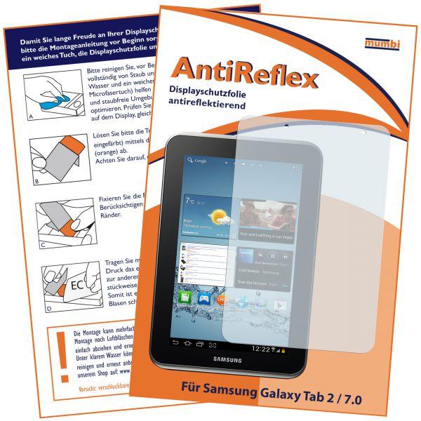 Displayschutzfolie AntiReflex für Samsung Galaxy Tab 2 7.0