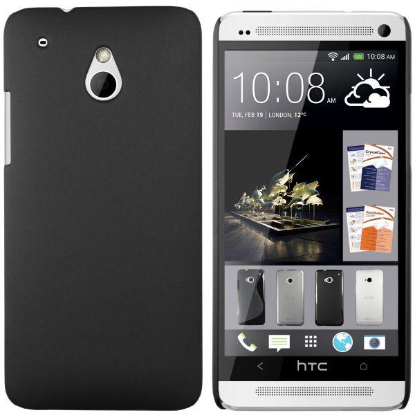 Hard Case Hülle schwarz für HTC One Mini