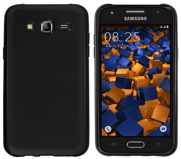 TPU Hülle schwarz für Samsung Galaxy J5 (2015)