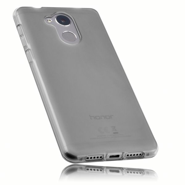 TPU Hülle schwarz transparent für Huawei Honor 6C