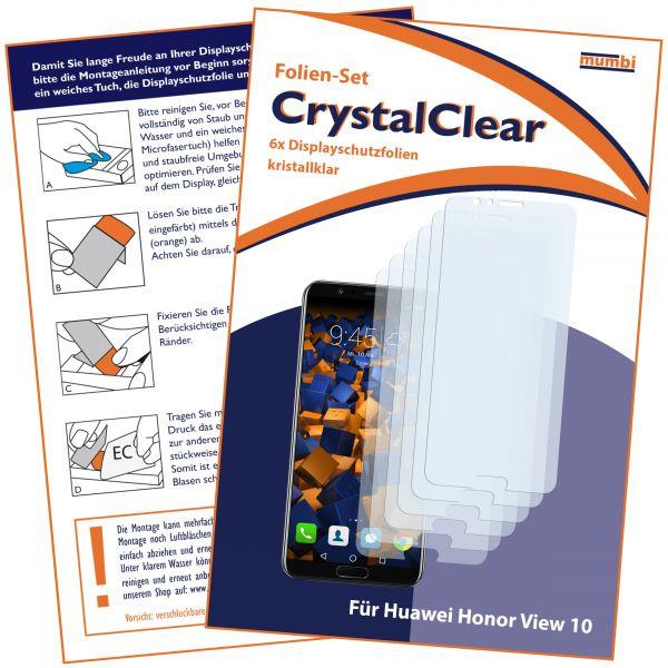 Displayschutzfolie 6 Stck. CrystalClear für Huawei Honor View 10