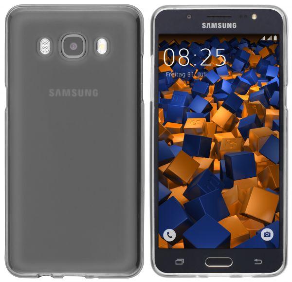 TPU Hülle schwarz transparent für Samsung Galaxy J5 (2016)