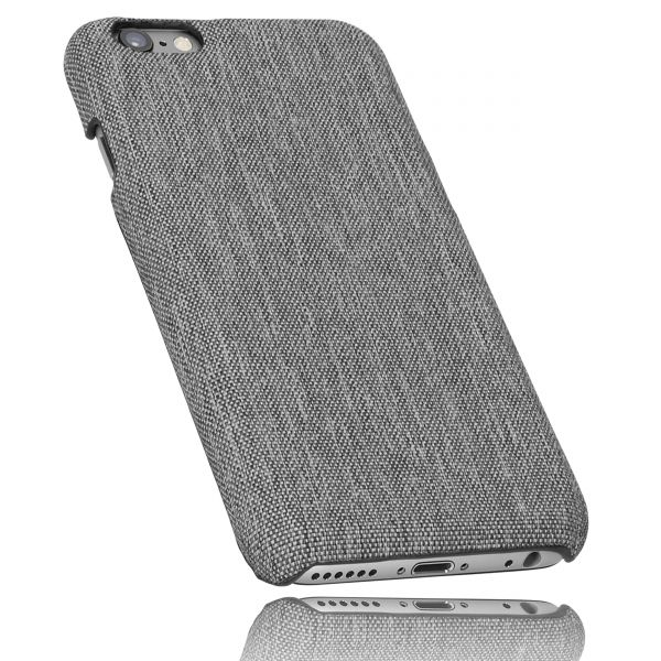 Hard Case Hülle fineline grau für Apple iPhone 6 / 6s