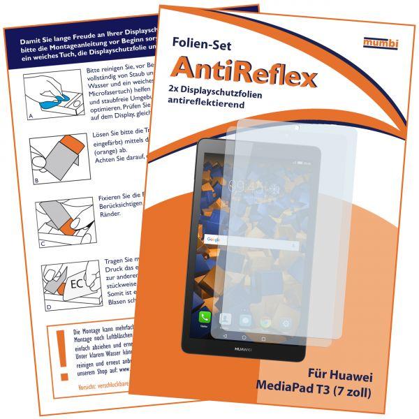 Displayschutzfolie 2 Stck. AntiReflex für Huawei MediaPad T3 7.0 Zoll