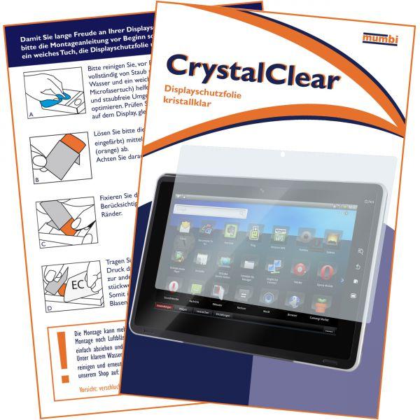 Displayschutzfolie CrystalClear für Samsung Galaxy Tab 10.1