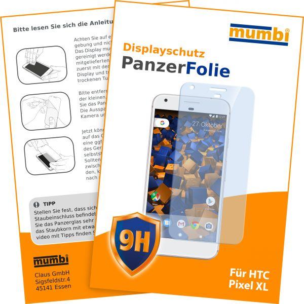Panzerglasfolie Hartglas 9H für Google Pixel XL