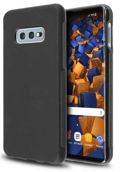 TPU Hülle double GRIP schwarz für Samsung Galaxy S10e
