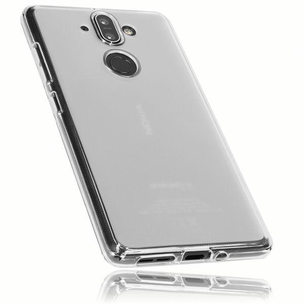 TPU Hülle weiß transparent für Nokia 8 Sirocco