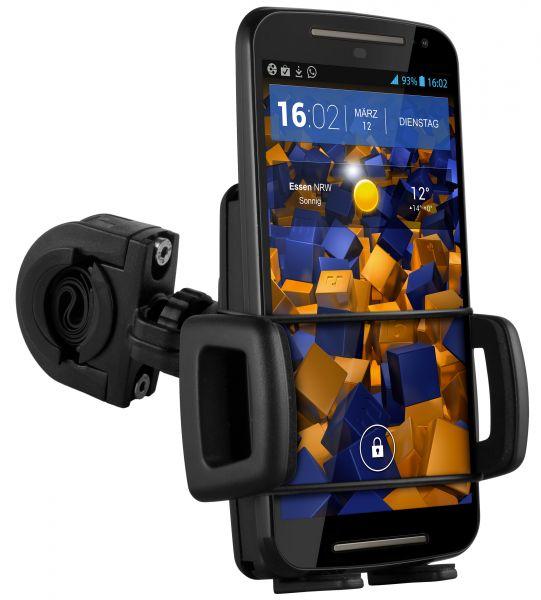 Fahrrad- Motorradhalterung TwoSave für Motorola Moto G 2. Generation
