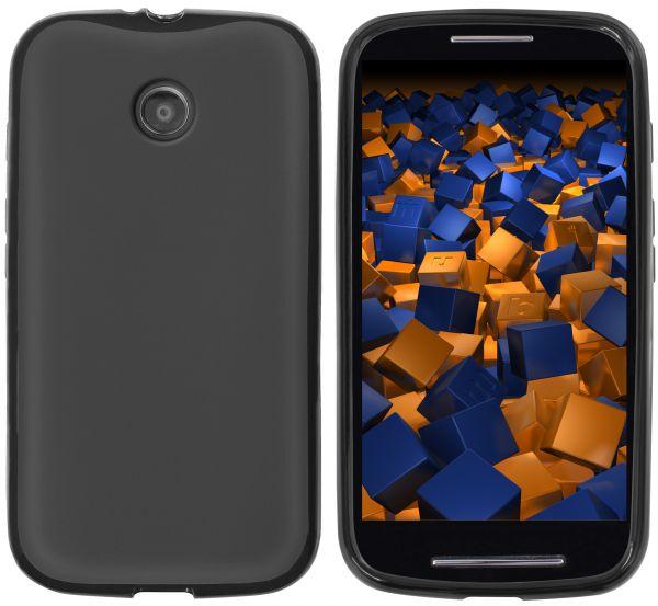 TPU Hülle schwarz für Motorola Moto E