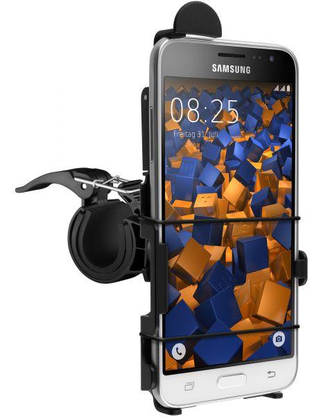 Fahrrad-/Motorradhalterung schwarz für Samsung Galaxy J3 (2016)