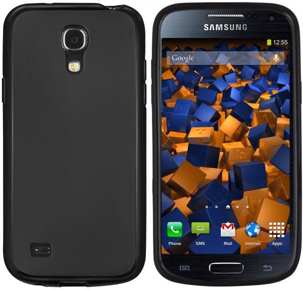 TPU Hülle schwarz für Samsung Galaxy S4 mini
