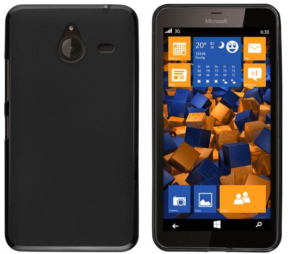 TPU Hülle schwarz für Microsoft Lumia 640 XL
