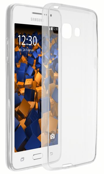 TPU Hülle Ultra Slim transparent für Samsung Galaxy Grand Prime