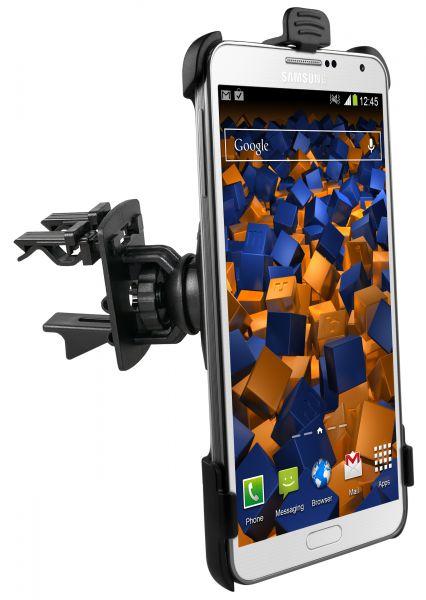 Lüftungsschlitz KFZ Halterung Vent Mount Schale aufstellbar für Samsung Galaxy Note 3