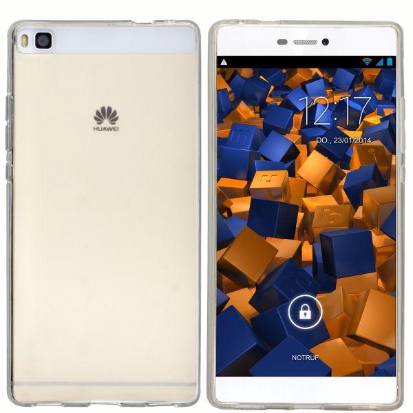 TPU Hülle weiß transparent für Huawei P8