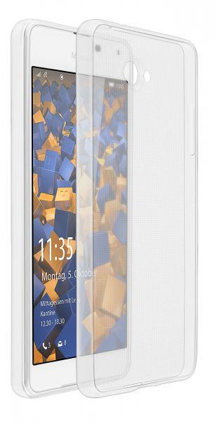 TPU Hülle Ultra Slim transparent für Microsoft Lumia 650