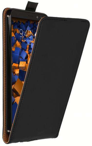 Flip Case Tasche schwarz für Huawei Mate 10 Lite