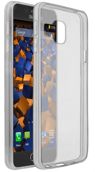 TPU Hülle Ultra Slim schwarz transparent für Samsung Galaxy A3 (2016)