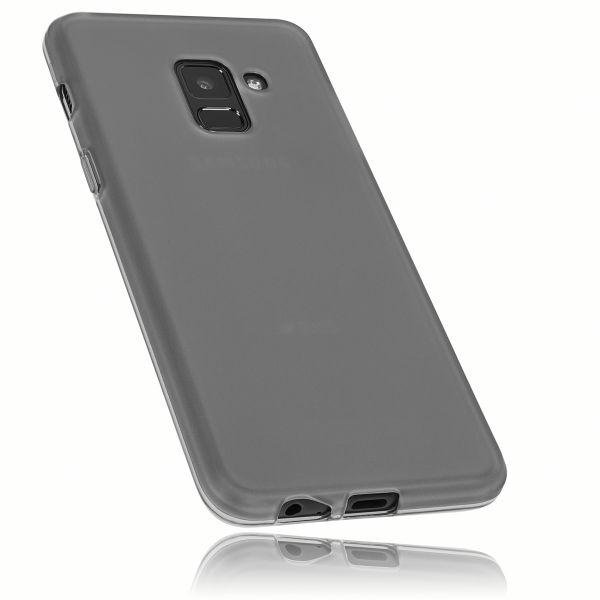 TPU Hülle schwarz transparent für Samsung Galaxy A8 (2018)