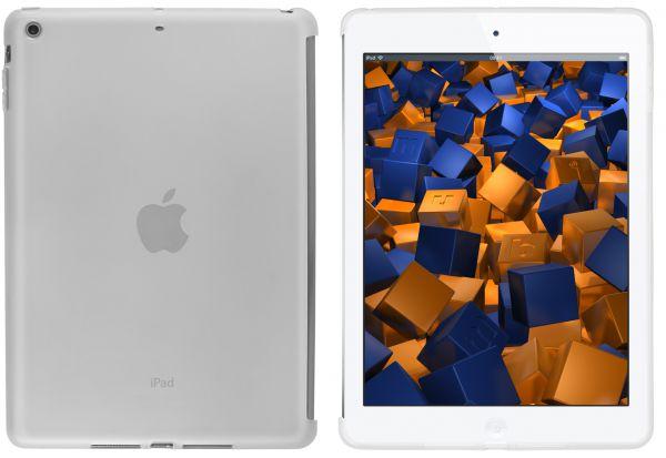 TPU Hülle transparent weiß (passt mit Smart Cover) für Apple iPad Air 1