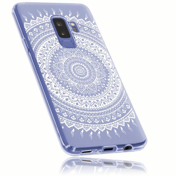 TPU Hülle transparent Motiv Mandala für Samsung Galaxy S9 Plus