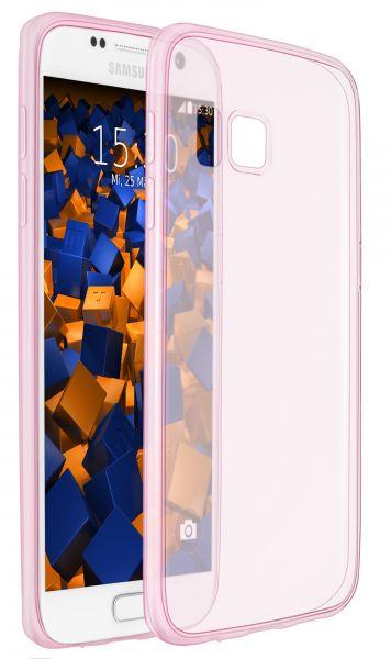 TPU Hülle Ultra Slim pink transparent für Samsung Galaxy S7