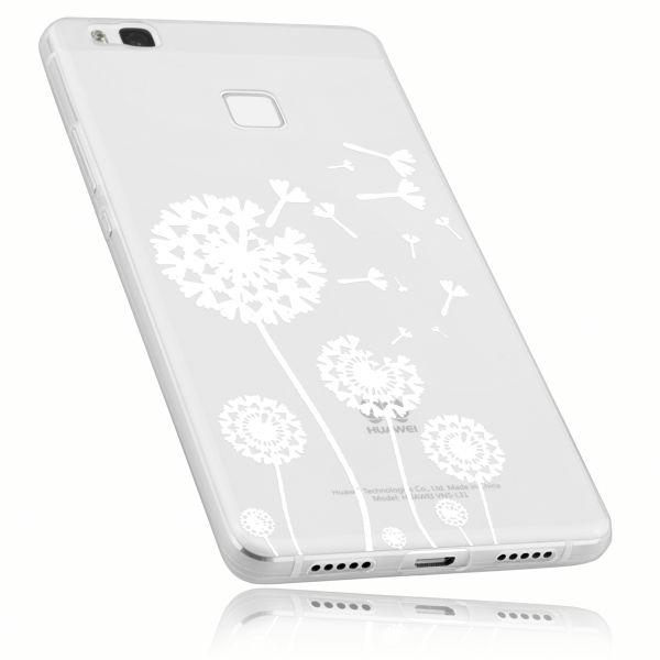 TPU Hülle transparent Motiv Pusteblume für Huawei P9 Lite
