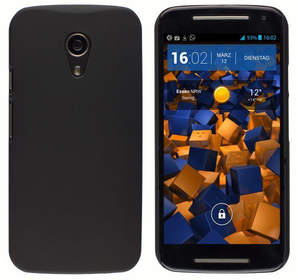 Hard Case Hülle schwarz für Motorola Moto G 2. Generation