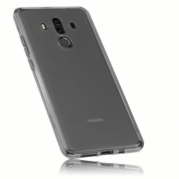 TPU Hülle schwarz transparent für Huawei Mate 10 Pro