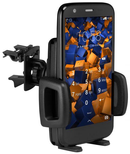 Lüftungsschlitz KFZ Halterung Vent Mount Kugelgelenk für Motorola Moto G