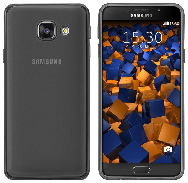 TPU Hülle schwarz transparent für Samsung Galaxy A5 (2016)