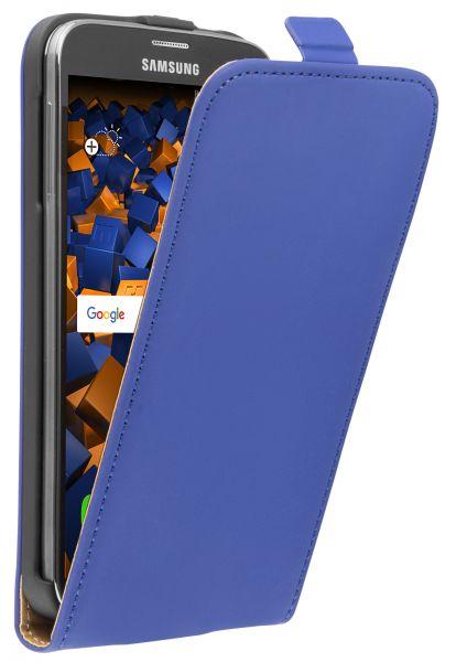 Flip Case Tasche blau für Samsung Galaxy S5 / S5 Neo