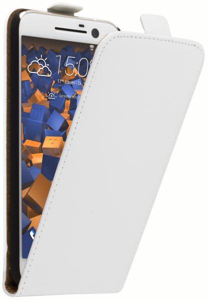 Flip Case Tasche weiß für HTC 10