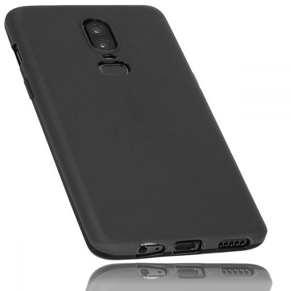 TPU Hülle schwarz für OnePlus 6