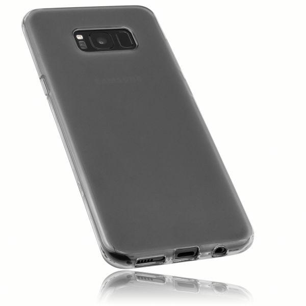 TPU Hülle schwarz transparent für Samsung Galaxy S8 Plus