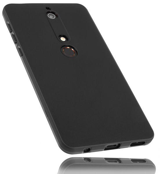 TPU Hülle schwarz für Nokia 6 (2018)
