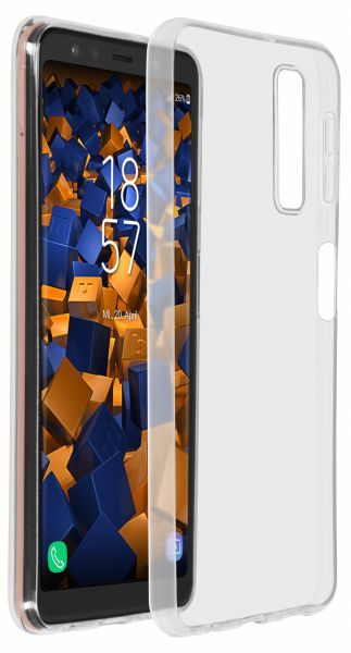 TPU Hülle Ultra Slim transparent für Samsung Galaxy A7 (2018)