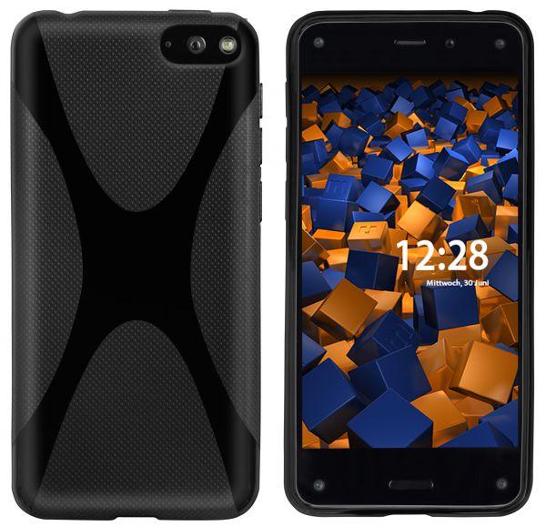 TPU Hülle X-Design schwarz für Amazon Fire Phone