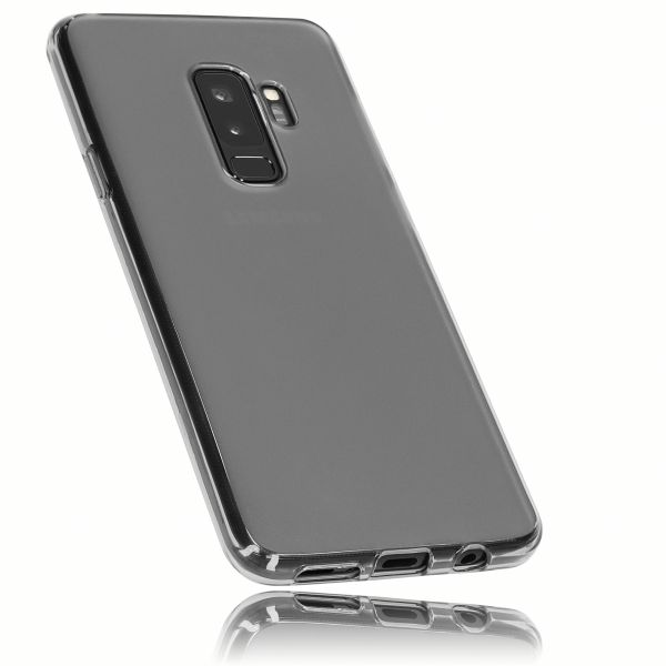 TPU Hülle schwarz transparent für Samsung Galaxy S9+