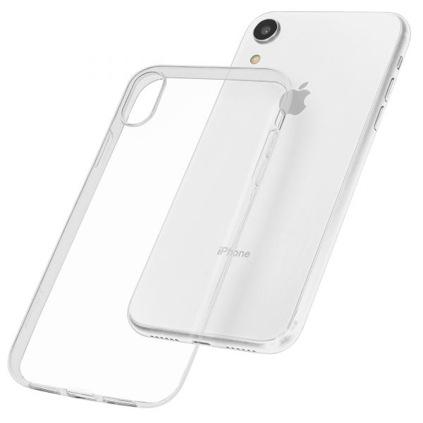 TPU Hülle Ultra Slim UV beständig transparent für Apple iPhone XR